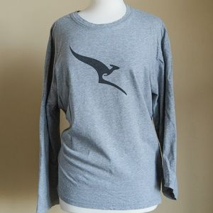 Peter Morrissey Henley Grey Shirt